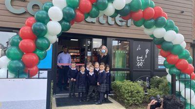 Mrs Craig opens brand new shop