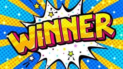 Taylor is a winner!