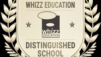 Leybourne Chase recognised as a distinguished school by Whizz Education