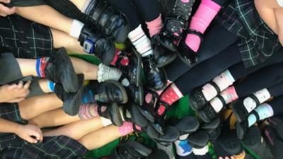 Odd socks day raises £120!