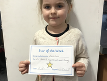 Star of the week - Amelia