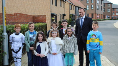 MP visit to discuss road safety