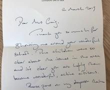 MP response