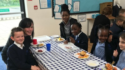 Year 4 parent lunch
