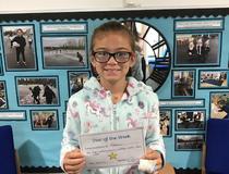 Star of the week - Rebecca
