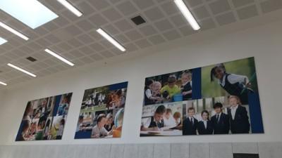 New hall installations