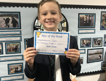Star of the week - Jayden