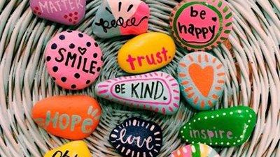 Kindness pebbles