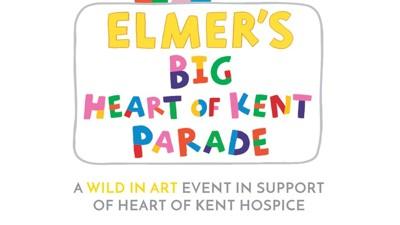 Elmer's Big Heart of Kent Parade