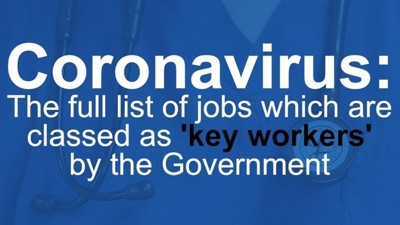 COVID-19 key worker information