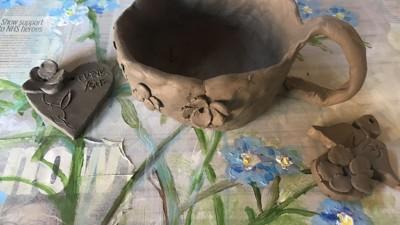 Ceramics workshop creations