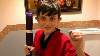 Karate success for Harley!