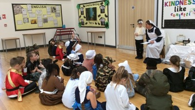 Florence Nightingale inspires History project