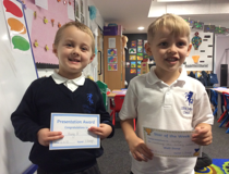 Star of the week - George & Harry H