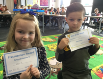 Star of the week - Rose H and Reggie