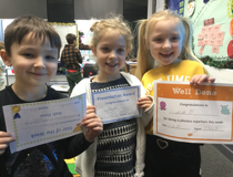 Star of the week - Finley, Amber &  Mia