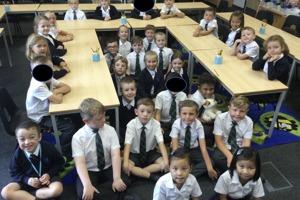 Class 2 Class Photo